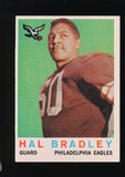 1959 Topps Football Card #63 Hal Bradley Philadelphia Eagles