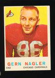 1959 Topps Football Card #93 Gern Nagler Chicago Cardinals