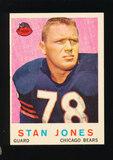 1959 Topps Football Card #96 Hall of Famer Stan Jones Chicago Bears
