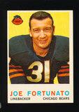 1959 Topps Football Card #106 Joe Fortunato Chicago Bears
