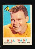 1959 Topps Football Card #110  Bill Wade Los Angeles Rams