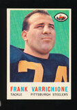 1959 Topps Football Card #119 Frank Varrichione Pittsburgh Steelers