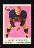 1959 Topps Football Card #144 Joe Krupa Pittsburgh Steelers