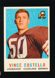 1959 Topps Football Card #158 Vince Costello Cleveland Browns