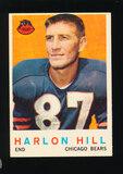 1959 Topps Football Card #167 Harlon Hill Chicago Bears
