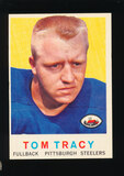 1959 Topps ROOKIE Football Card #176 Rookie Tom Tracy Pittsburgh Steelers