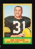 1963 Topps Football Card #87 Hall of Famer Jim Taylor Green Bay Packers