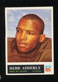 1965 Philadelphia Football Card #72 Hall of Famer Herb Adderly Green Bay Pa