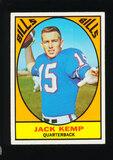 1967 Topps Football Card #24 Jack Kemp Buffalo Bills