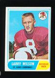 1968 Topps Football Card #164 Hall of Famer Larry Wilson St Louis Cardinals