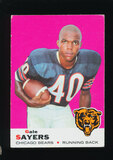 1969 Topps Football Card #51 Hall of Famer Gale Sayers Chicago Bears