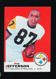 1969 Topps Football Card #111 Roy Jefferson Pittsburgh Steelers