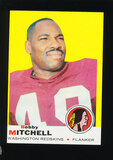 1969 Topps Football Card #114 Hall of Famer Bobby Mitchell Washington Redsk