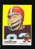 1969 Topps Football Card #121 Jim Houston Cleveland Browns