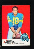 1969 Topps Football Card #125 Roman Gabriel Los Angeles Rams
