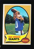 1970 Topps Football Card #80 Hall of Famer Fran Tarkenton New York Giants