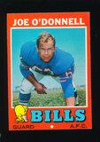 1971 Topps Football Card #4 Joe O'Donnell Buffalo Bills