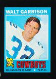 1971 Topps Football Card #8 Walt Garrison Dallas Cowboys