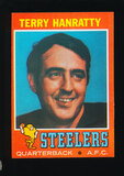 1971 Topps Football Card #30 Terry Hanratty Pittsburgh Steelers