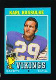1971 Topps Football Card #46 Karl Kassulke Minnesota Vikings