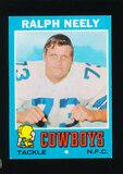 1971 Topps Football Card #89 Ralph Neely Dallas Cowboys