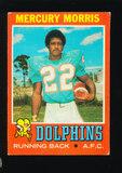 1971 Topps ROOKIE Football Card #91 Rookie Mercury Morris