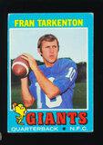 1971 Topps Football Card #120 Hall of Famer Fran Tarkenton New York Giants