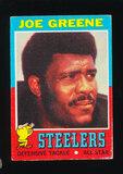 1971 Topps ROOKIE Football Card #245 Rooke Hall of Famer Joe Greene Pittsbu