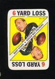 1971 Topps Football Game Card #50 Hall of Famer Bart Starr Green Bay Packer