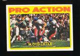 1972 Topps Football Card #339 Hall of Famer Floyd Little Denver Broncos In