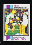 1973 Topps Football Card #470 John Brockington Green Bay Packers