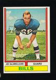 1974 Topps ROOKIE Football Card #183 Rookie Hall of Famer Joe DeLamielleure