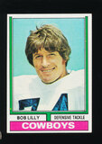 1974 Topps Football Card #250 Hall of Famer Bob Lilly Dallas Cowboys