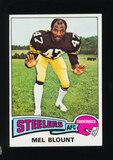 1975 Topps ROOKIE Football Card #12 Rookie Hall of Famer Mel Blount Pittsbu