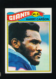1977 Topps ROOKIE Football Card #146 Rookie Hall of Famer Harry Carson New