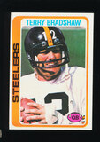 1978 Topps Football Card #65 Hall of Famer Terry Bradshaw Pittsburghh Steel