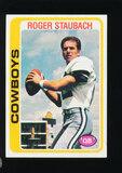 1978 Topps Football Card #290 Hall of Famer Roger Staubach Dallas Cowboys