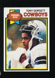 1979 Topps Football Card #160 Hall of Famer Tony Dorsett Dallas Cowboys