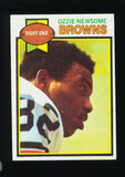 1979 Topps ROOKIE Football Card #308 Rookie Hall of Famer Ozzie Newsome Cle