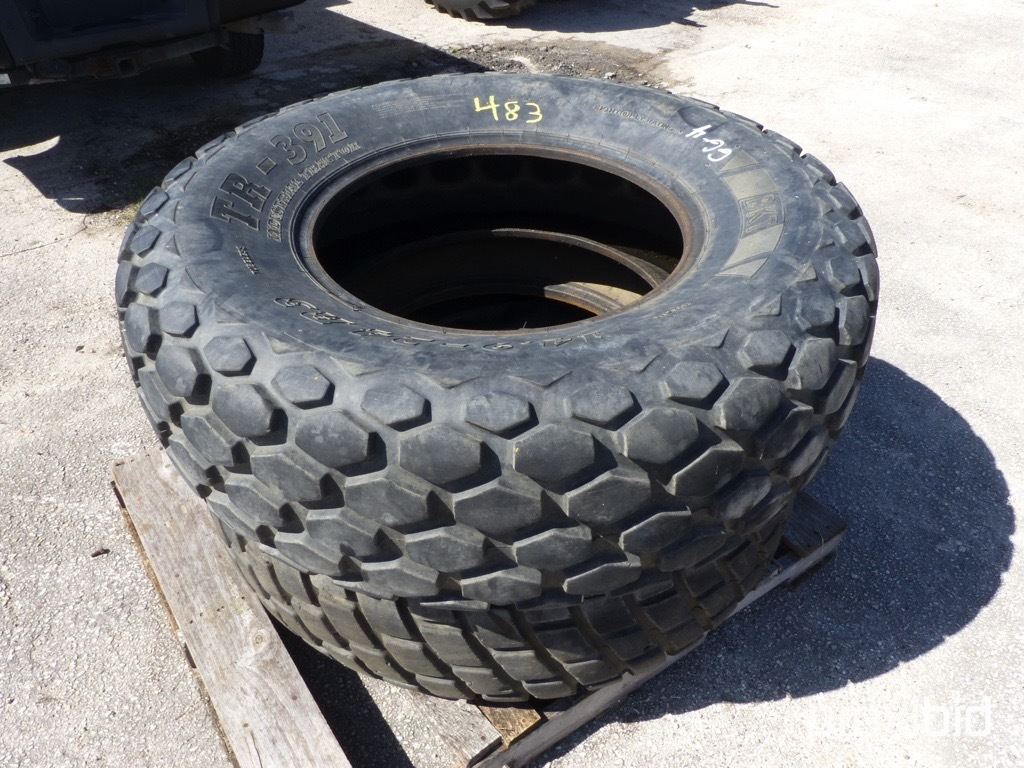 2) 14.9-24 TIRES