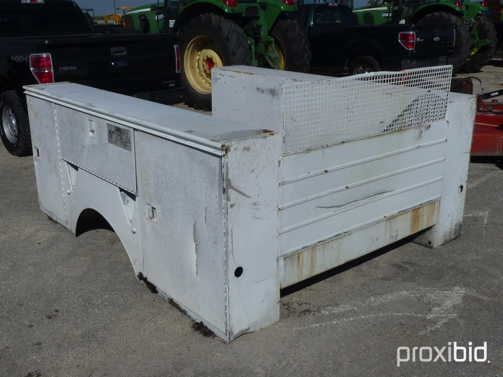 SERVICE BED FOR TRUCK