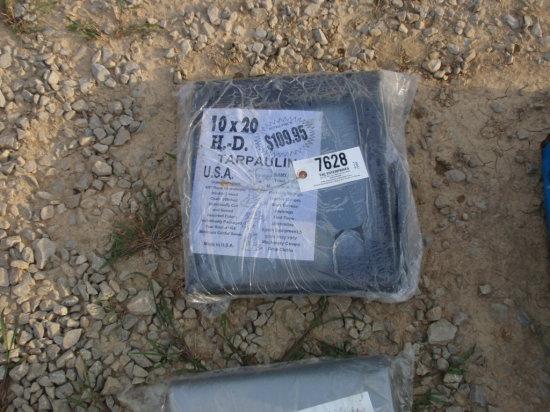 10X20  TARP  BLACK
