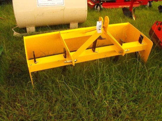 6ft Itawamba Box Blade - Yellow