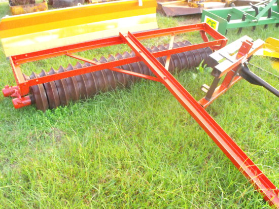 8ft Double Cultipacker - Red