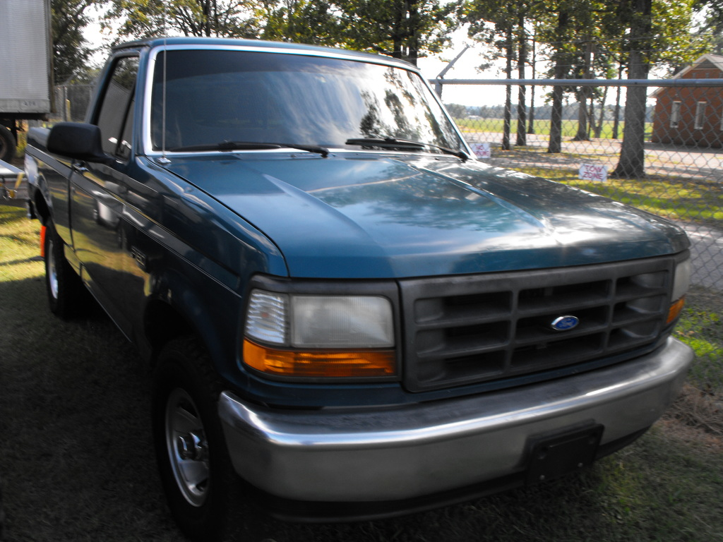 1996 FORD F150, 4X4, 78K MILES SHOWING #2FTEF14N7TCA06214