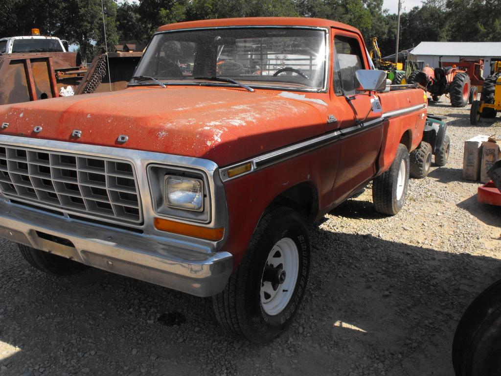 1979 FORD F150 4X4 SWB