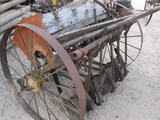 MULE DRAWN GRAIN DRILL