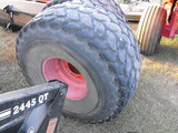 (2) 21.5 X 16.1 TURF TIRES AND RIMS