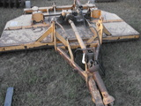 8' WOODS PULL TYPE CUTTER (MODEL 208-2) NEEDS BLADES