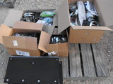 PALLET OF MISC SEMI PARTS/LED LIGHTS/MUD FLAPS ETC.